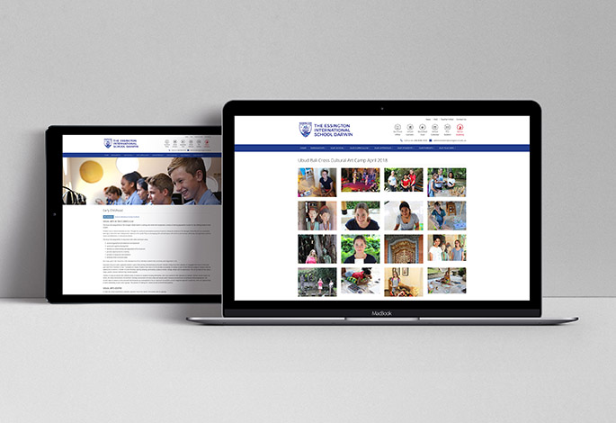 The Essington School website