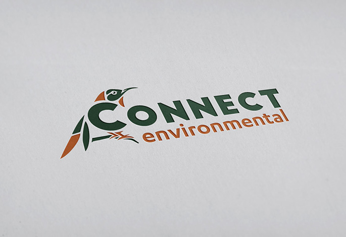 Connect Environmental Logo Design