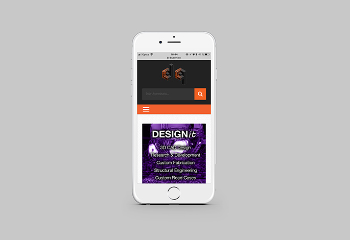 Design Quintessence Mobile Website