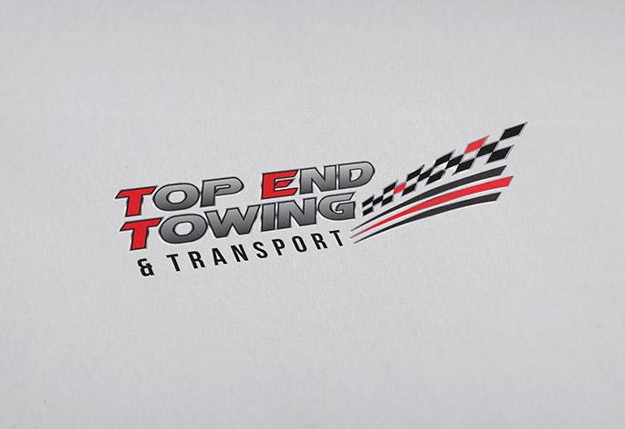 Top End Towing Logo Design