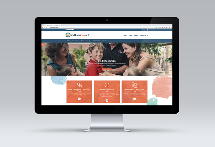 CatholicCare NT website development