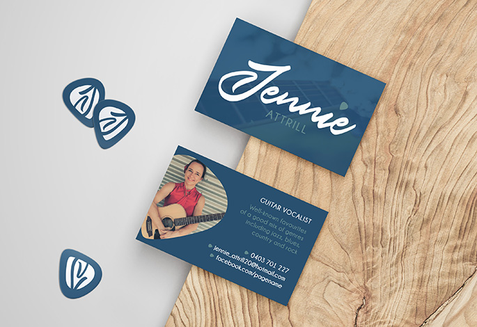 Jenny Attrill Business Cards