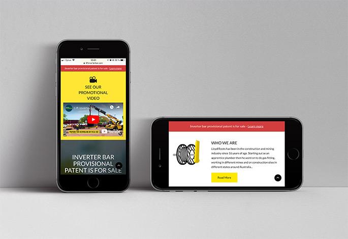 Lift Inverter Bar Website Mobile Version