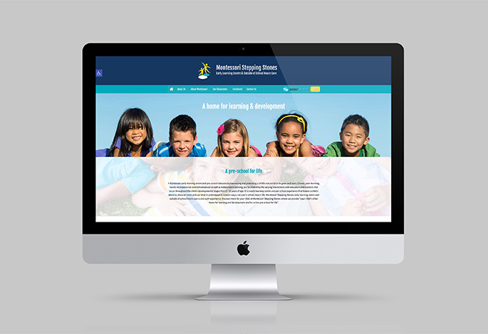 Montessori Stepping Stones website