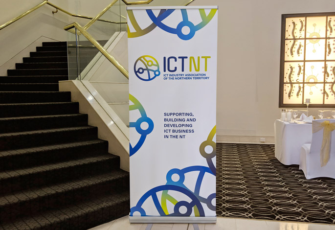ICTNT Pull-Up Banner