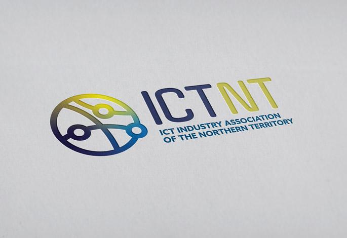 ICTNT Logo Design