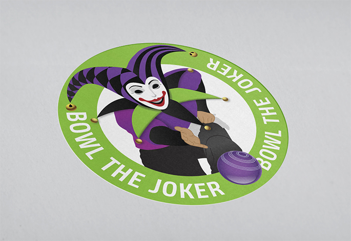 Bowl The Joker Logo Design