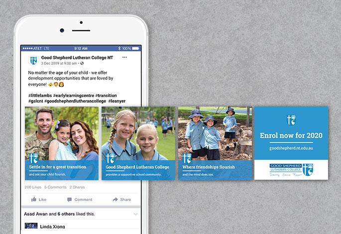 Good Shepherd Lutheran College Facebook Campaign Enrolment