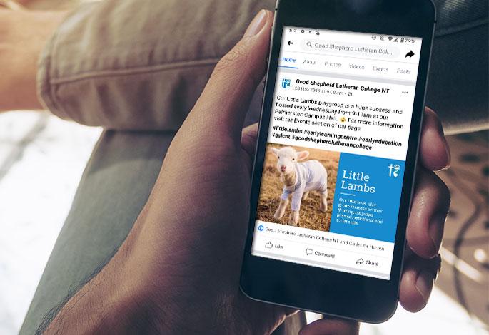 Good Shepherd Lutheran College Social Media ELC Little Lambs