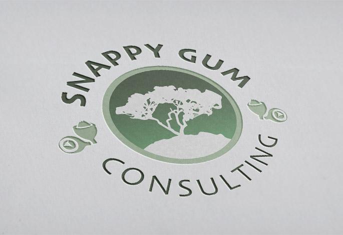 Snappy Gum Consulting Logo Design