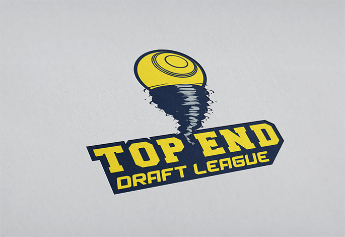 Top End Draft League lawn bowls logo
