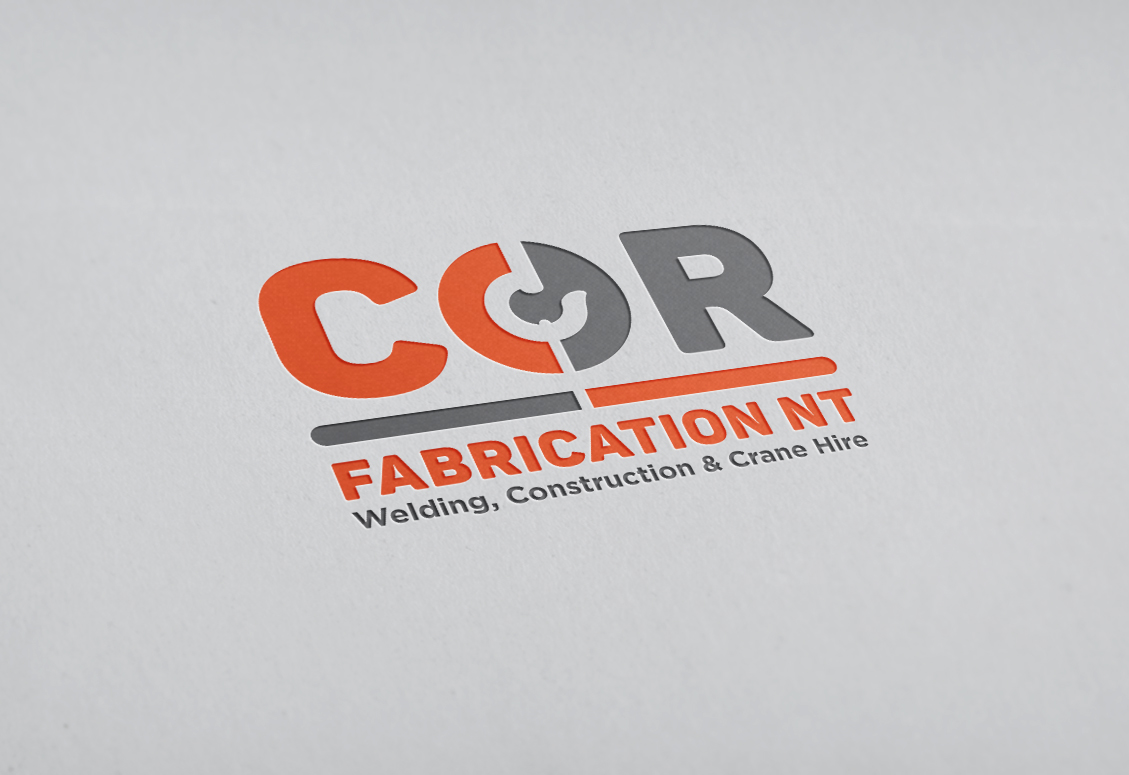 COR Fabrication logo design
